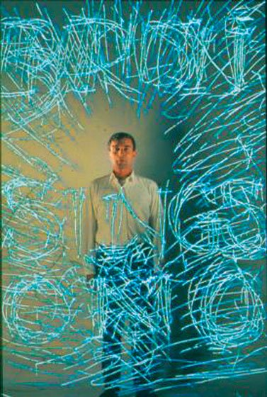 Brion Gysin self portrait